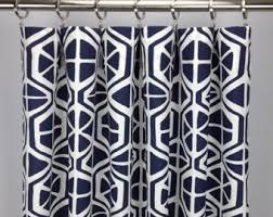 Etsy Drapes Geometric Curtains Etsy