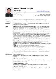 accountant resume sle charming sle cv resume for accountant gallery entry level