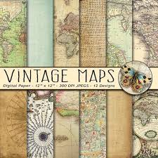paper maps best 25 vintage maps ideas on maps vintage map decor