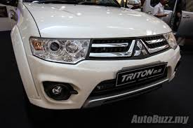 mitsubishi triton 2014 mitsubishi triton gets a new look in malaysia vgt gs priced at