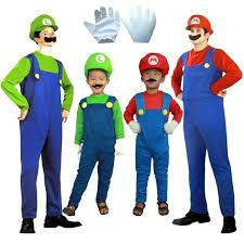 Toddler Luigi Halloween Costume Cheap Super Mario Costume Super Mario Costume