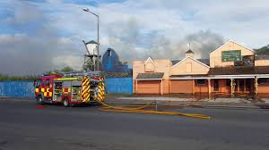 ranch house burning down on fire morecambe july 2016 youtube
