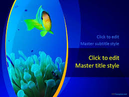 free sea ppt template