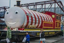 holiday express and santa roll into kc u0027s union station on friday