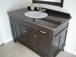 Mission Style Bathroom Vanity by Alluring Design Ideas Using Rectangular White Wooden Wall Shelves