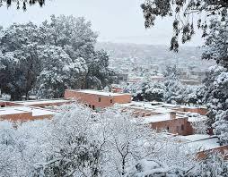 Snow In Sahara Snowfall In The Sahara Desert Town Of Ain Sefra January 20th