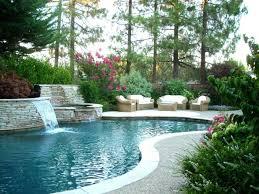 Garden Pool Ideas Modern Garden With Pool Webzine Co