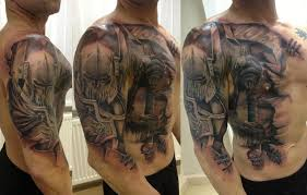 african lion face tattoo on chest photo 1 photo pictures and