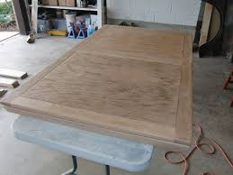 Refinishing A Solid Oak Dining Table Seth Adam Smith - Sanding kitchen table