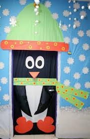 classroom penguin door decoration classroom crafts