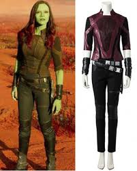 Gamora Costume Guardians Of The Galaxy Star Lord Peter Quill Cosplay Costume