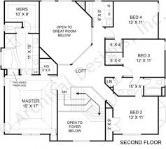 avenues small luxury house plan open home floor plans