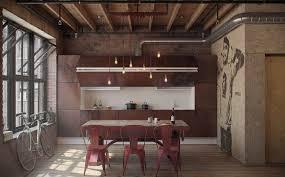 cuisine industrielle loft industrielle loft