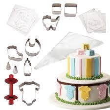 boss 25 piece baby shower cake kit