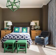 brown and blue bedroom ideas riverside penthouse transitional bedroom little rock by tobi