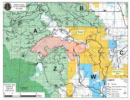 Wyoming Wildfires Map Beaver Creek Fire Northwest Of Walden Now 5 400 Acres