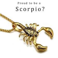 men necklace pendants images Stainless steel american style scorpion pendants necklaces for men jpg