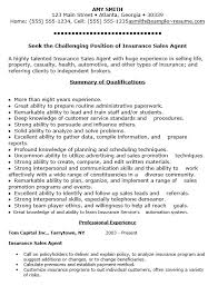 Life Insurance Agent Resume 16 Free Sample Sales Agent Resumes U2013 Sample Resumes 2016