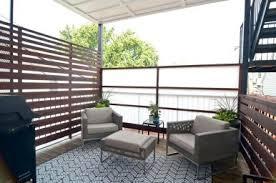 apartment balcony privacy ideas racetotop comapartment patio