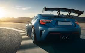 brz subaru wallpaper subaru brz subaru rhl rear view background hd wallpaper