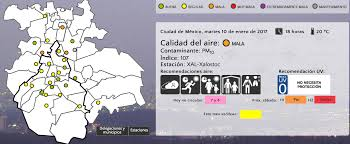 Coyoacan Mexico Map by Methodological Problems Using Mexico City U0027s Pollution Data Ken