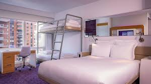 Bunk Bed And Breakfast Double Bunk Cabin New York Hotel Yotel