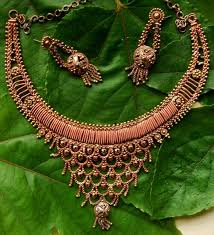 copper jewelry necklace images Cheap indian bridal copper jewelry wholesale indian custom jpg