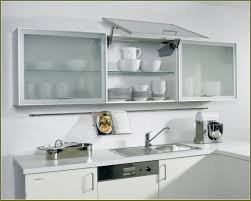 Kitchen Cabinet Doors With Frosted Glass by Fabulous White Kitchen Cabinet With Textured Glass Doors