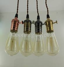 ceiling light with switch industrial edison vintage pendant light l fabric cord with