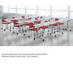 National Waveworks Reception Desk National Waveworks Conference Table Bonners Furniture