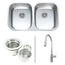 kitchen sink faucet combo inch stainless steel double bowl kitchen