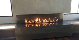 linear gas fireplaces binhminh decoration