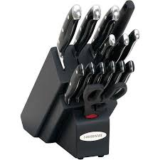 farberware kitchen knives buy farberware 15 sted riveted cutlery set in