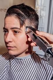 cut your own hair with clippers women womens barber shop haircuts