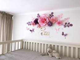 Nursery Room Wall Decor Nursery Paper Flowers Paper Flowers The Crib Baby