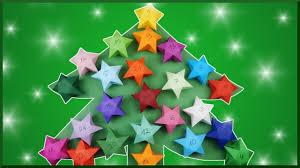 diy tannenbaum adventskalender geschenkbox stern christmas