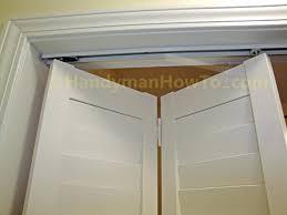 How To Replace Bifold Closet Doors Closet Bifold Closet Doors Wood Closet Doors Home Design