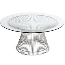 Wire Side Table Finemod Imports Modern Wire Coffee Table Fmi10085 Silver Minimal