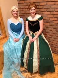 Halloween Anna Costume Homemade Movie Quality Anna Elsa Costumes Frozen