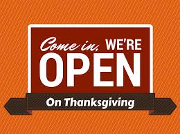 we re open thanksgiving restaurant hours local herald review