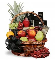 gourmet basket deepest sympathy fruit and gourmet basket food fruit