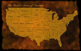 Old World Map Wallpaper by Usa Us Map America Old Rustic States Patriotic Wallpaper