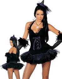 Witch Halloween Costumes Adults Black Magic Witch Halloween Costume Adults 3wishes