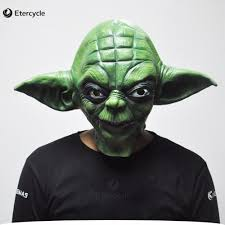 aliexpress com buy green yoda masks