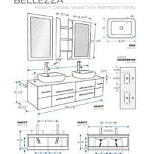 Standard Bathroom Vanity Top Sizes by Average Height Of Bathroom Vanity Standard Bathroom Vanity Height