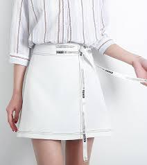 de sexe dans un bureau 2017 été nouveau mode corée a ligne solide jupe courte occasionnelle