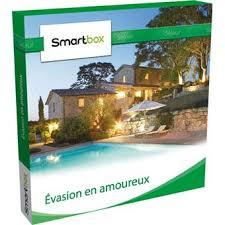 Coffret Cadeau évasion En Amoureux Smartbox Coffret Evasion En Amoureux Coffrets Cadeaux Achat