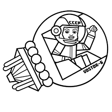 valentina tereshkova first woman in space free colouring page