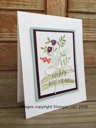 stampintx oh so cute and simple birthday card