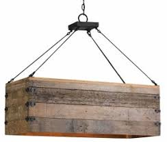 Rustic Candle Chandelier Rectangular Candle Chandelier Foter